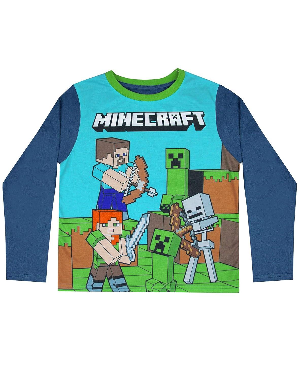 Taglia Nuovo Con Licenza Ufficiale minecraft Creeper Inside Bambini T-Shirt