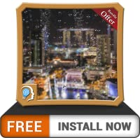 Lightening Rainy Drops - Wet your Fire TV Screen with cool rainy scene