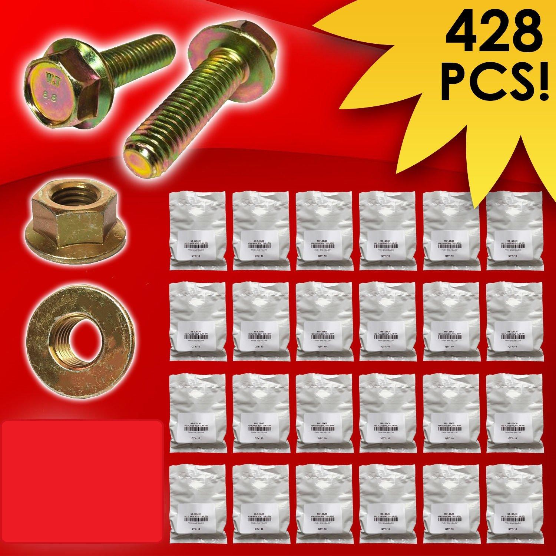 Nuts Metric Class 10.9 Hex Cap Screws Bolts /& Washers Assortment Kit 575 Pieces!