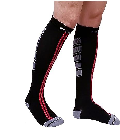 55771fedab Sports Compression Socks for Men & Women 15-20 mmHg, Graduated Athletic,  Running
