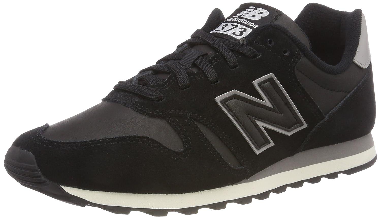 New Balance 373, Zapatillas Hombre 42.5 EU|Negro (Black/Marblehead Blg)