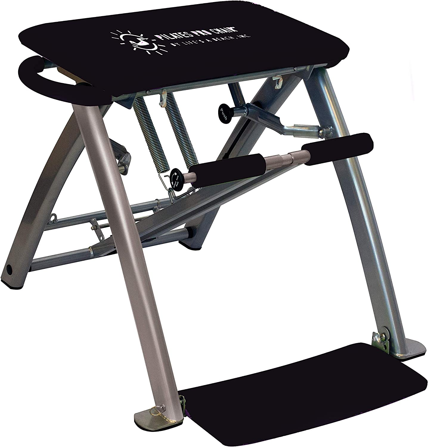 Life's A Beach Pilates PRO Chair with 4 DVDs
