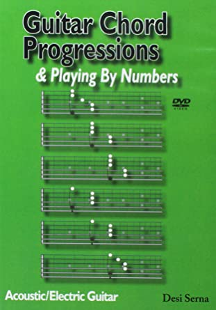 Amazon Guitar Chord Progressions And Playing By Numbers Dvd