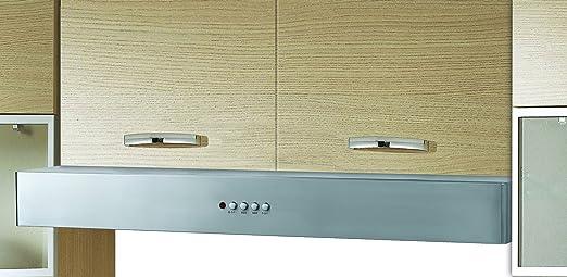 Mepamsa Slim Jet Bm 60 Campana aspirante decorativa de pared de inox, 80 W, 68 Decibelios, 3 Velocidades, Acero inoxidable: Amazon.es: Grandes electrodomésticos
