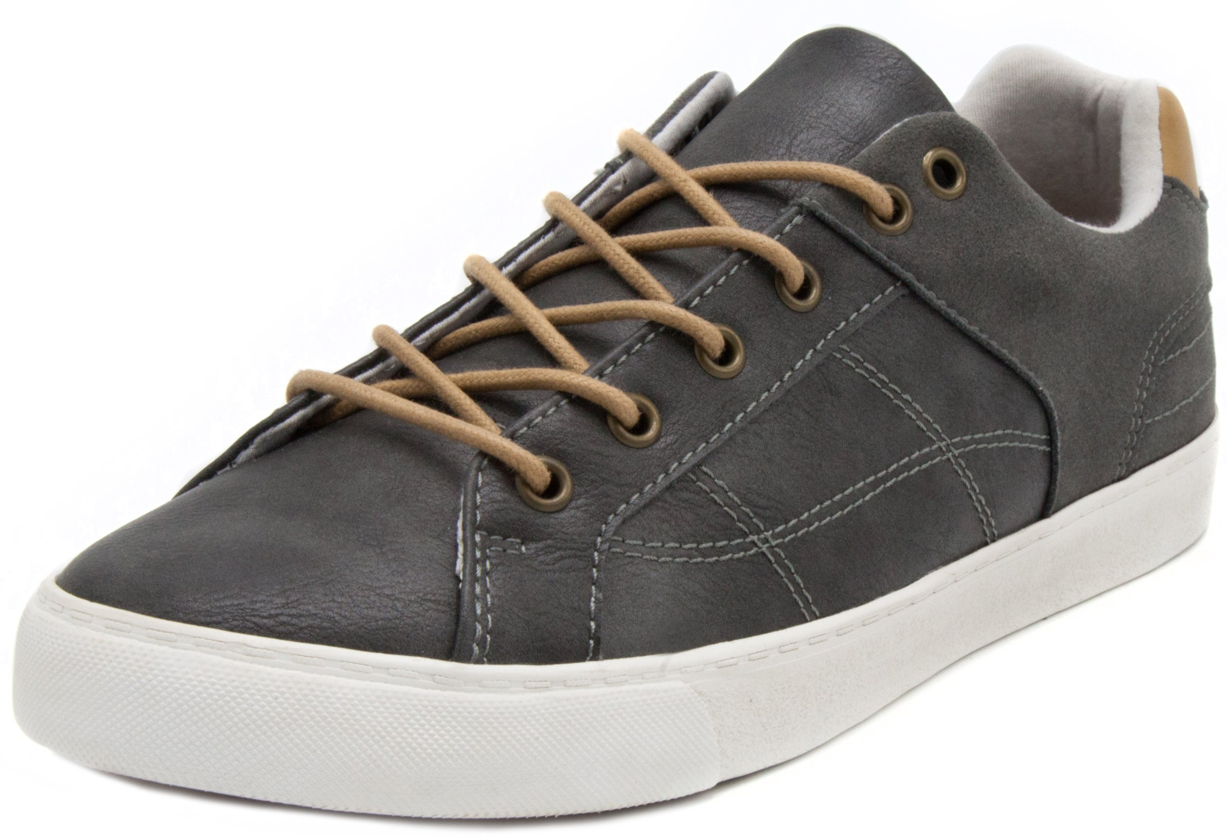 London Fog Mens Nottingham Fashion Sneaker Grey 10.5