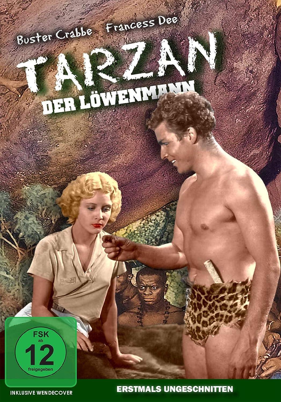Buster Crabbe Tarzan Der Löwenmann [Alemania] [DVD]: Amazon ...