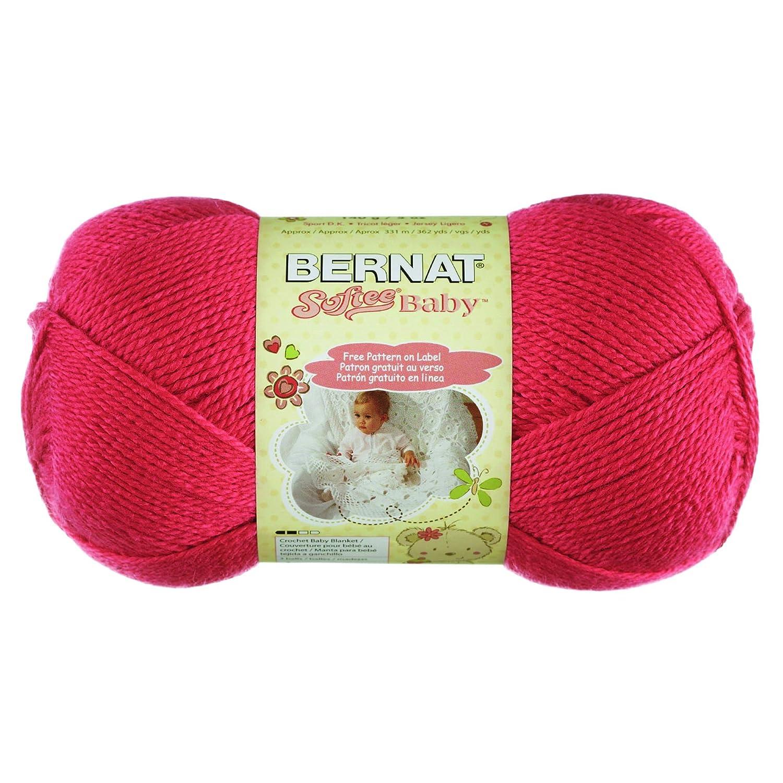 Amazon.com: Bernat Softee Baby Yarn, Soft Red, Single Ball: Arts ...