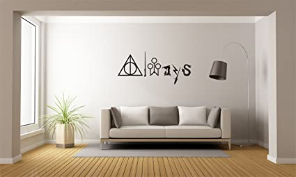Amazon always harry potter mural wall decal sticker for home