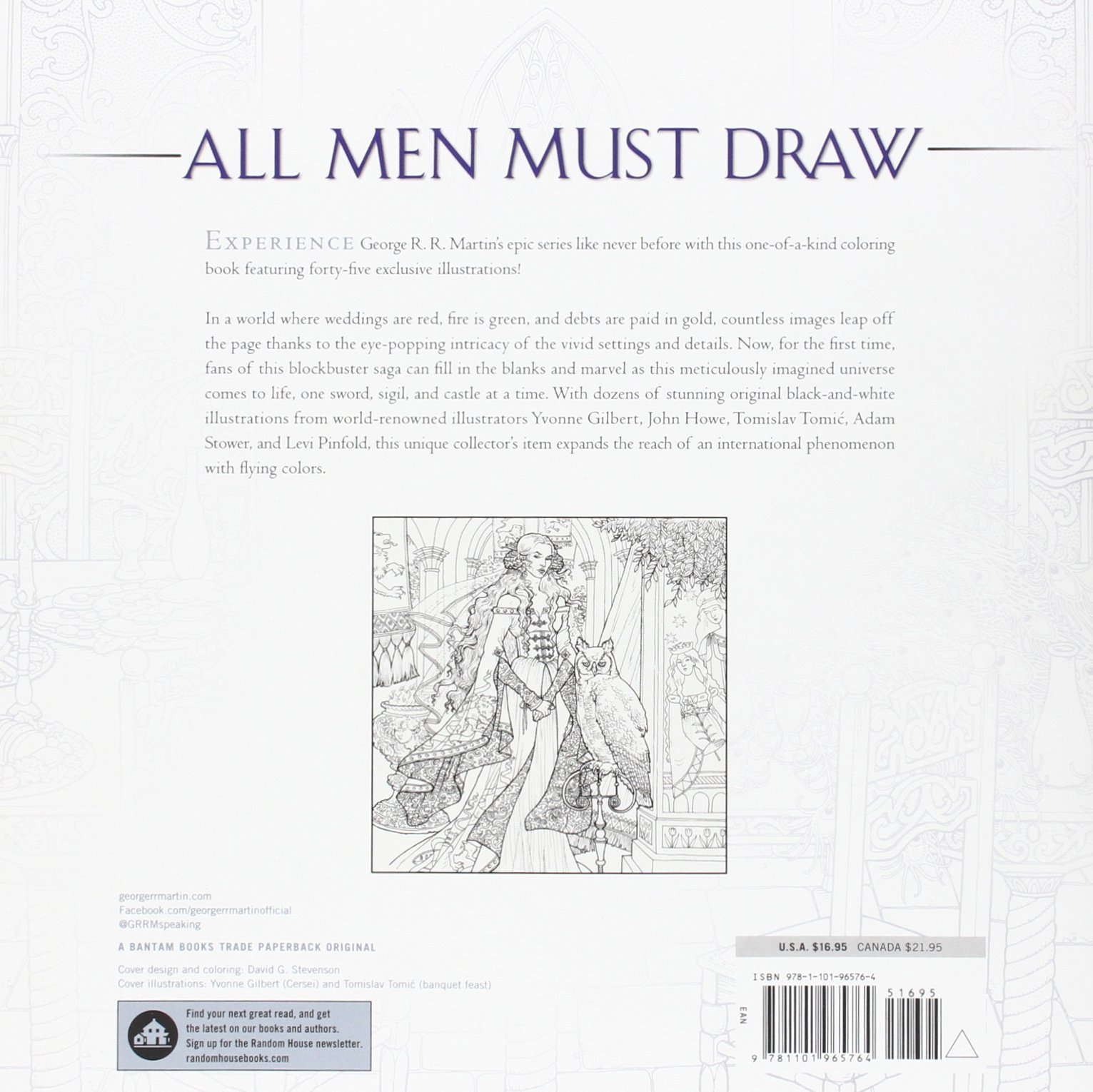 X men coloring online games - Amazon Com The Official A Game Of Thrones Coloring Book An Adult Coloring Book A Song Of Ice And Fire 9781101965764 George R R Martin Books