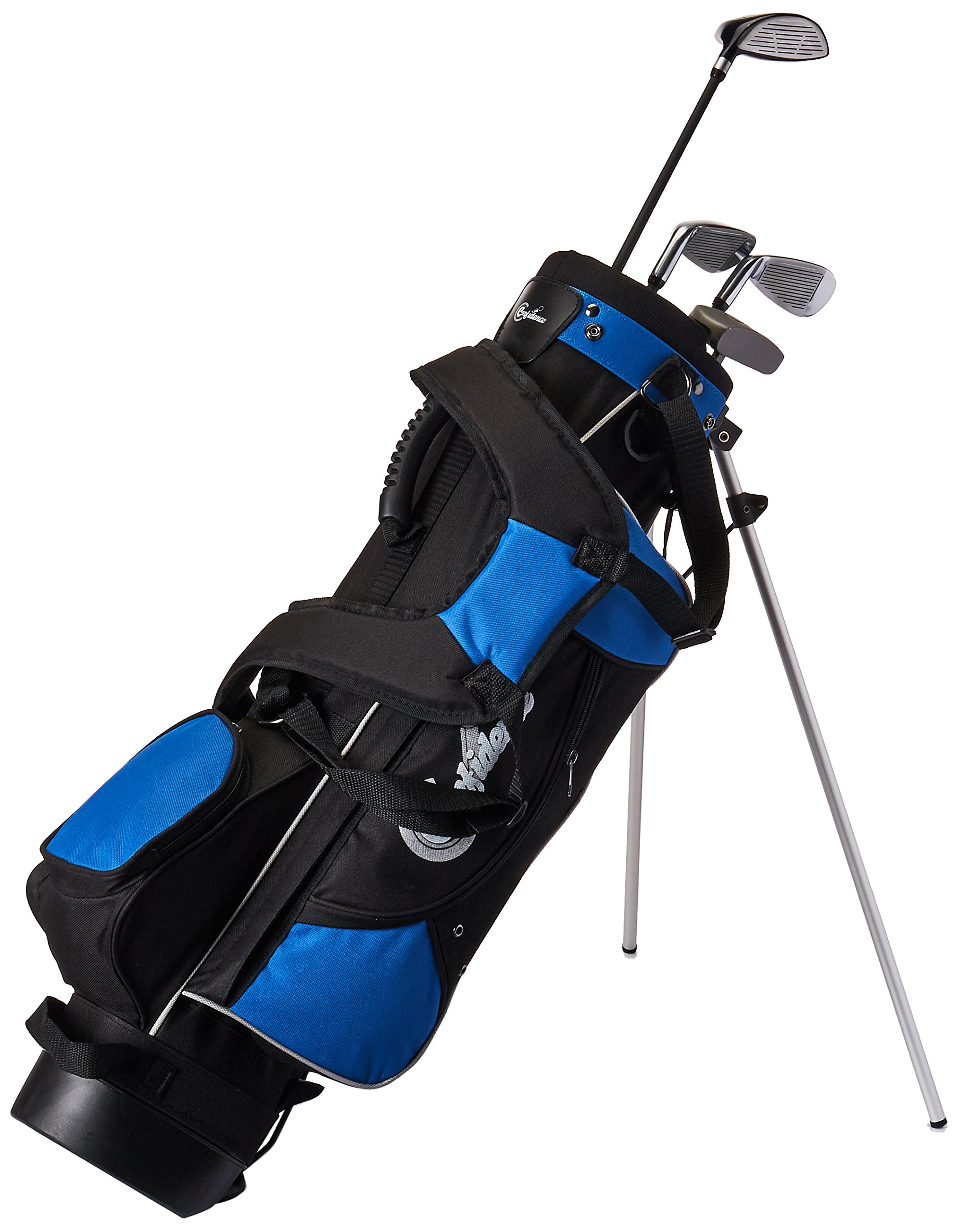 Confidence Junior Golf Club Set with Stand Bag (Right Hand, Ages 4-7) by Confidence