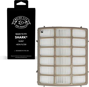 Motor City Home Products Shark NV80 XHF80 Navigator Professional Compatible HEPA Filter, Brand Replacement (1)