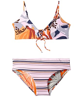 e66317cdc74 Maaji Kids Baby Girl's Sunset Dew Bikini Set (Toddler/Little Kids/Big Kids