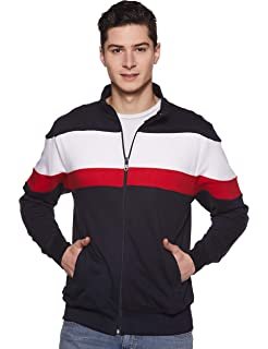 a371eabe8 AWG Men's Premium Rich Cotton Pullover Hoodie Sweatshirt with Zip ...
