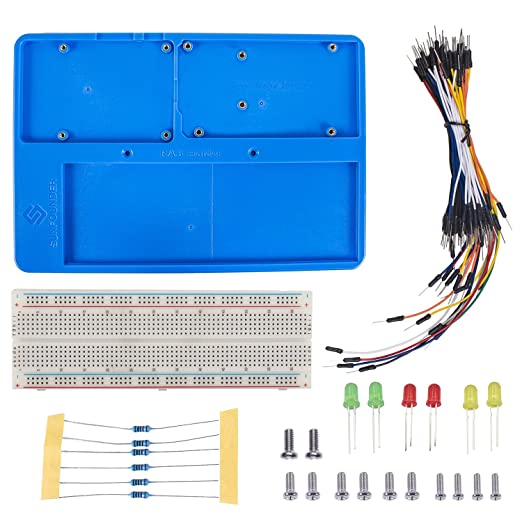 2 opinioni per SunFounder Breadboard Kit RAB Holder,