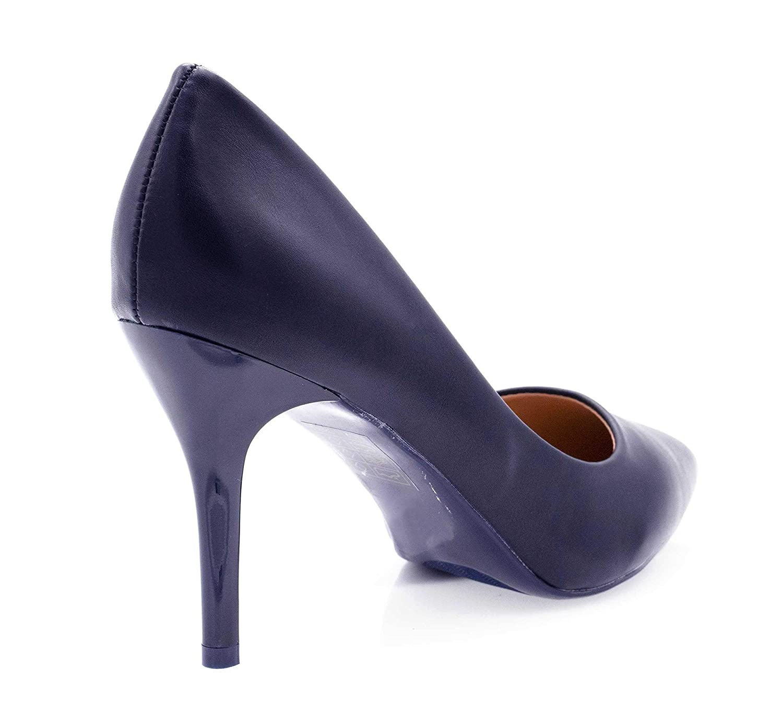 b13e7136f543e6 Fashion Shoes - Escarpin Femme Talon 9cm-Chaussures Escarpin uni ...