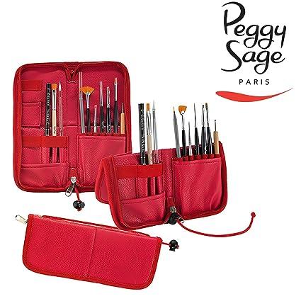 Peggy Sage - Estuche - Atril para pinceles uñas y maquillaje ...