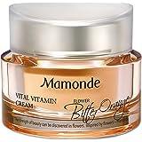 Mamonde Vital Vitamin Cream Brightening Facial Moisturizer, 1.69 Fl Oz