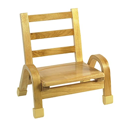 Angeles 7 Wood Classroom Stacking Chair