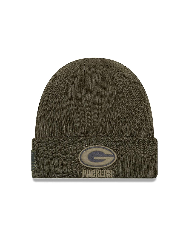 0b4a274ea9f Amazon.com   New Era 2018 Mens Salute to Service Knit Hat (Atlanta Falcons)    Sports   Outdoors