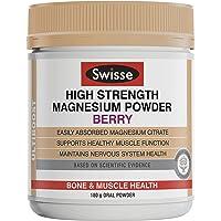 Swisse Ultiboost High Strength Magnesium Powder, Berry, 180g