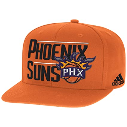 b033307176e Buy NBA Phoenix Suns Men s High Box Flat Brim Snapback Cap