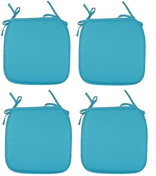 Silla de jardín cojín almohadillas de asiento almohadillas ...