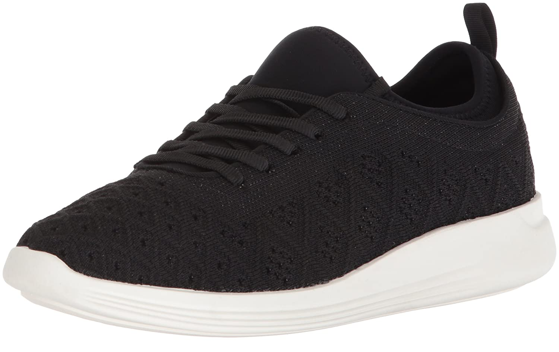 STEVEN by Steve Madden Women's Traci Sneaker B077HS1GC1 7 B(M) US Black