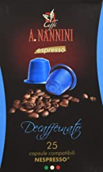 Caffè A. Nannini Decaffeinato - 150 Capsule