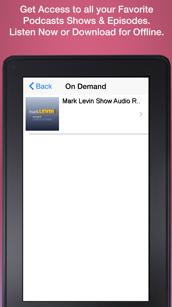 Mark Levin Radio - Free Android app | AppBrain