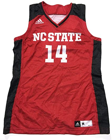 e00523b3733 Image Unavailable. Image not available for. Color  adidas NC State Wolfpack  Women s Crazy Explosive Basketball Jersey ...