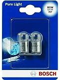 Bosch 1987301022 Pure Light - Bombilla R5W (para luz de freno, intermitentes, matrícula, etc.)