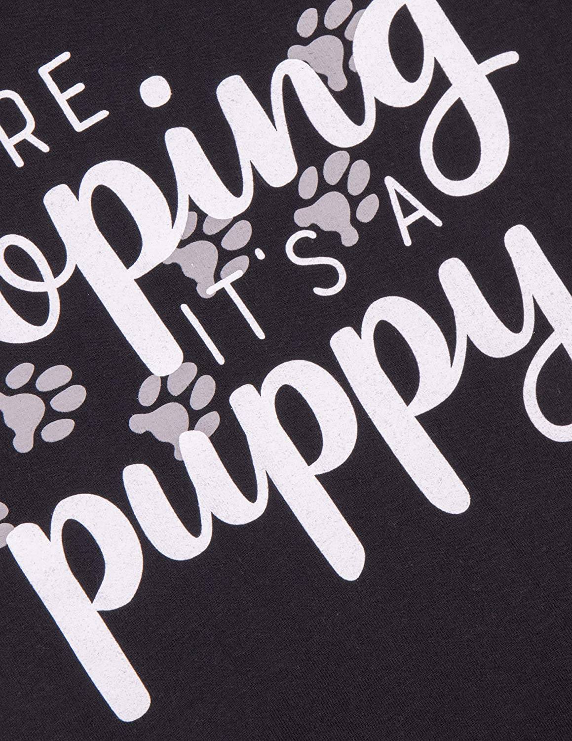 We/'re Hoping It/'s a Pony Black Maternity Soft T-Shirt