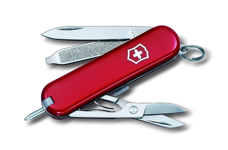 Victorinox V06225.B1 Navaja Pequeña Signature Blister, Rojo, S 06225B1