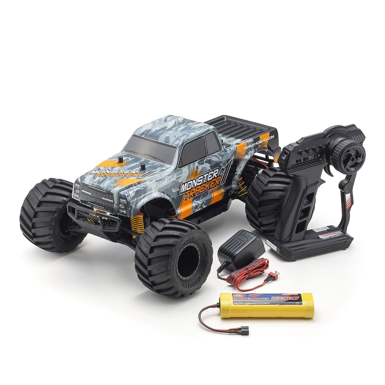 1/10スケール 電動ラジオコントロール 2WDモンスタートラック レディセット モンスタートラッカー カラータイプ2 KT-232P付き 34403T2 B07588FWWP