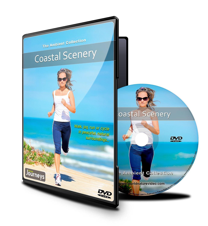 Trayectos físico - paisaje costero, para caminar cubierta, cinta y ...