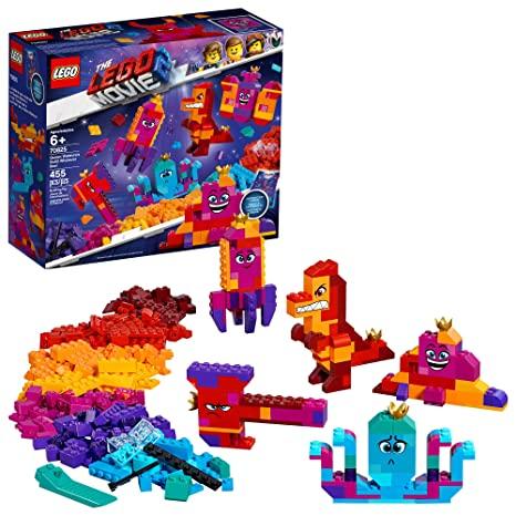 f91ef5a3f95 LEGO The LEGO Movie 2 Queen Watevra's Build Whatever Box! 70825 Pretend  Play Toy and Creative Building Kit for Girls and Boys , New 2019 (455 Piece)