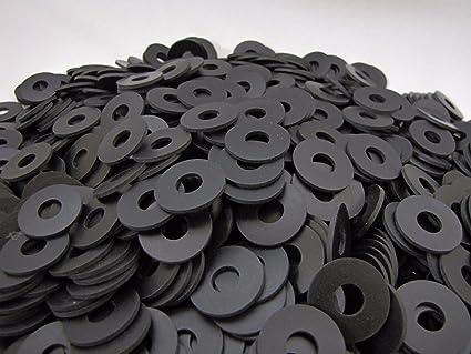 Amazon.com: (100) Rubber Washers | 1 x 3/8 x 1/16 Inch | Neoprene ...