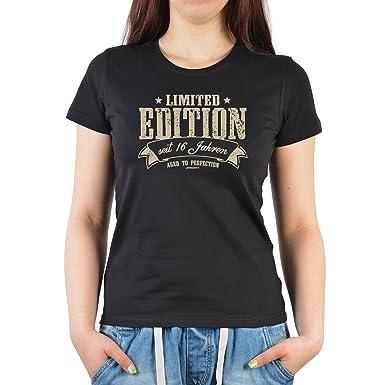 16 Geburtstag 16 Jahre Geschenk Damen Mädchen T Shirt Shirt