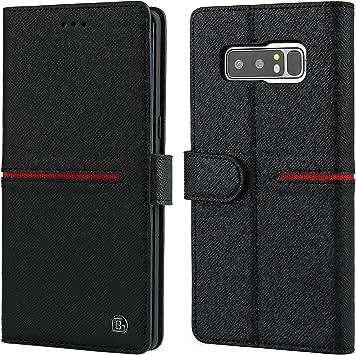 Gebei Aceh - Funda de Piel para Samsung Galaxy Note 8 (Cierre magnético, Cierre magnético): Amazon.es: Electrónica