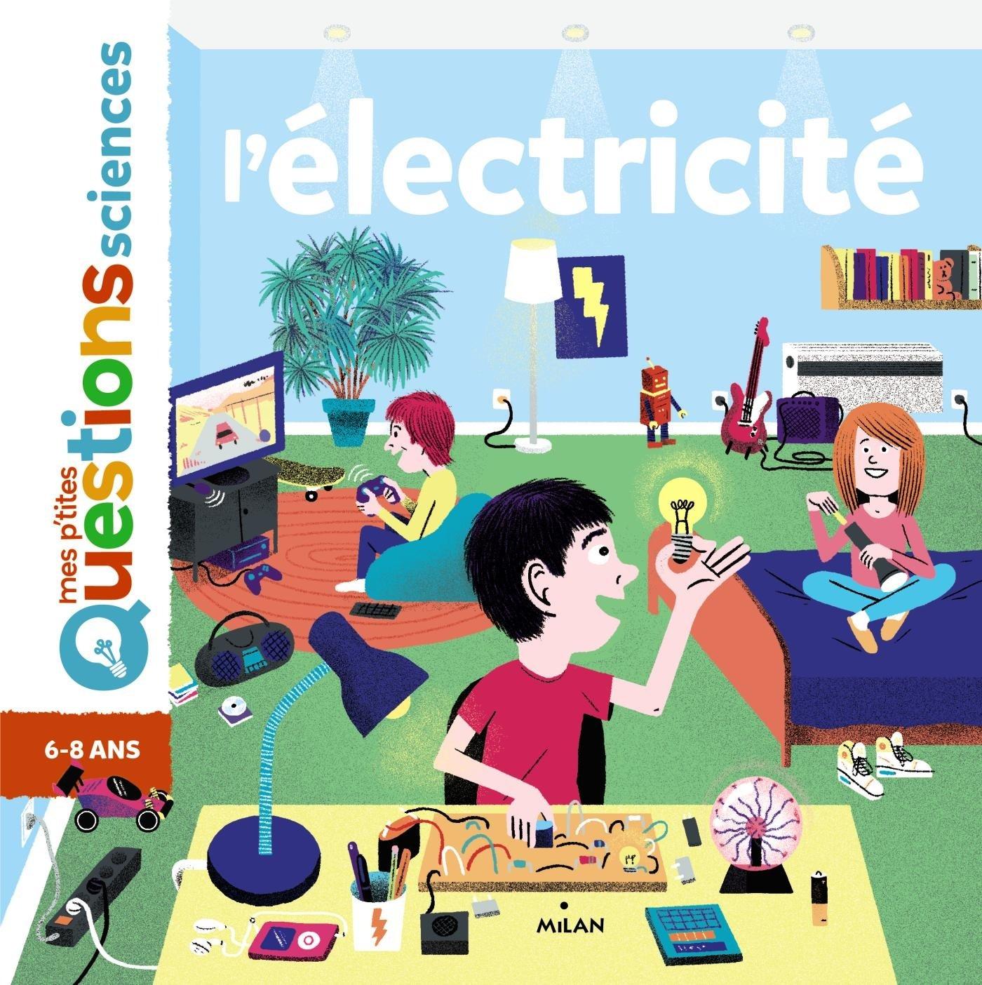 L'électricité Album – 8 février 2017 Cédric Faure Nikol L' électricité Editions Milan