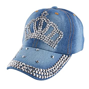 6a03018fdc337 Donna Pierce baby cute beauty baseball cap custom handmade rhinestone  luxury snapback hats for boys girls