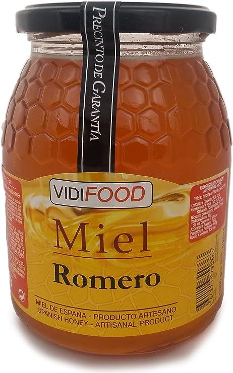 Miel de Romero - 1kg - Producida en España - Alta Calidad ...