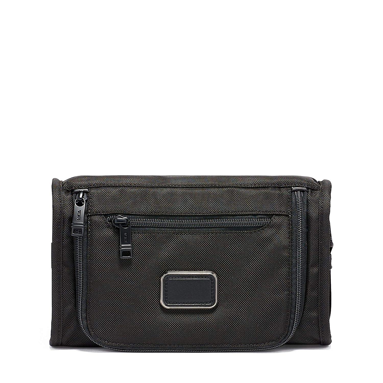 6b2b063a7 Amazon.com   TUMI - Alpha 3 Travel Kit - Luggage Accessories Toiletry Bag  for Men and Women - Black   Travel Duffels