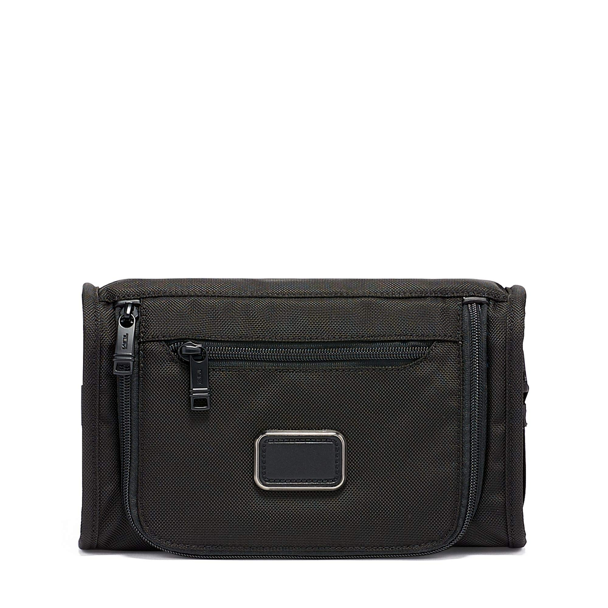 TUMI - Alpha 3 Travel Kit - Luggage Accessories Toiletry Bag for Men and Women - Black by TUMI