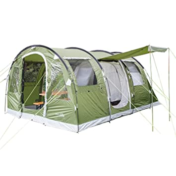 Skandika Gotland Group or Family Tunnel Tent with Sewn-In Groundsheet Green 4  sc 1 st  Amazon UK & Skandika Gotland Group or Family Tunnel Tent with Sewn-In ...