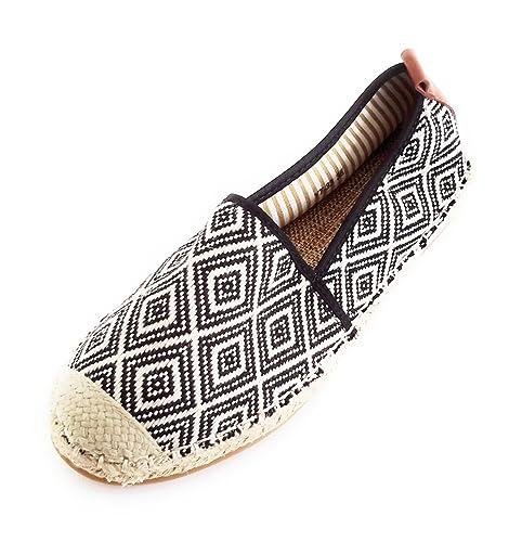 BRANDELIA Alpargatas Zapatillas Esparto Mujer. Espadrilles Cómodas y Estilosas de Verano: Amazon.es: Zapatos y complementos