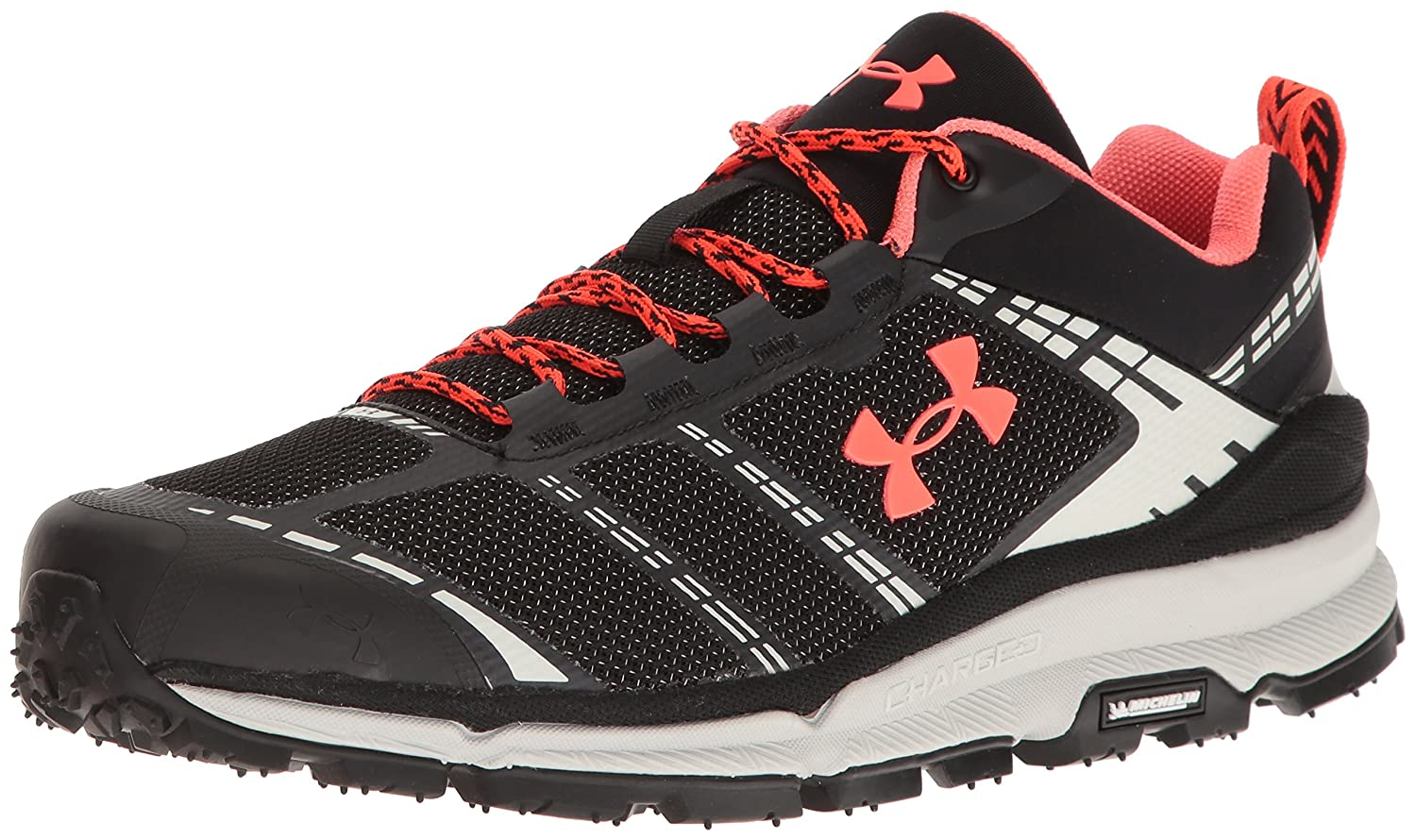 Under Armour Men's Verge Low Hiking Boot B01GPDXGZG 12.5 M US|Black (001)/Elemental
