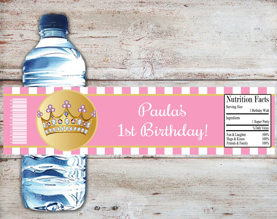 Amazon.com: Little Princess Personalized Baby Shower or Birthday ...
