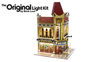 Brick Loot Lighting Kit (Deluxe Version) for Your Lego Palace Cinema Lighting Set 10232 Lego Set NOT Included