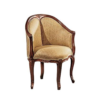 Design Toscano Louis XV Fauteuil De Bureau Chair